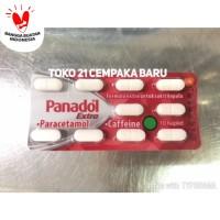 Obat PANADOL MERAH EXTRA 1 STRIP | Obat Sakit Kepala 10 Kaplet Tablet