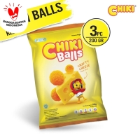 Chiki Ball Keju 200 Gr - 3 Pcs