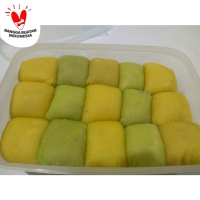 Pancake Durian Medium Isi 15 no cream (penkek duren tanpa krim)