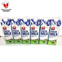 Susu Diamond FreshMilk 6 pcs karton | Diamond Fresh Milk segar plain