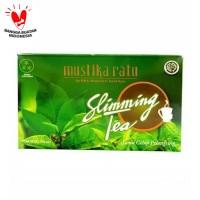 MUSTIKA RATU SLIMMING TEA ISI 15 - JAMU CELUP PELANGSING