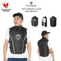 Rompi FUNCOVER 2 Sisi | Body Protector | Pelindung Dada