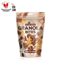 East Bali Cashews Granola Bites Chocolate Vanilla 125gr