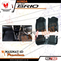 Karpet Mobil Maxmat All New Brio 2019 5D Premium