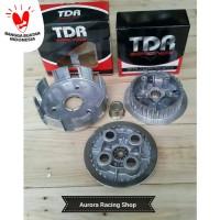 Rumah Kopling Set Komplit Kaki [4] Vega ZR| Jupiter Z1 -TDR Racing