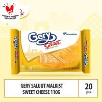 Gery Saluut Malkist Sweet Cheese -110g - (Beli 10 Gratis 10)