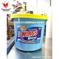 Sabun Cream WINGS BIRU W3 EMBER | Sabun Krim Colek WINGS Deterjen W 3