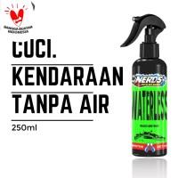Waterless Wash & Wax (Cuci mobil/motor tanpa air & mengkilapkan) 250ml