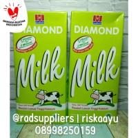 Diamond UHT Milk Low Fat 1liter, Susu UHT Rendah Lemak 1Liter..