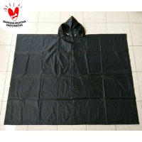 Jas Hujan Ponco Batman Bahan Parasut Waterproof
