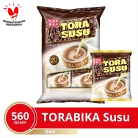 Torabika Susu Extra Full Cream Bag 20 Sachet @28 Gr