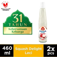 ABC Sirup Squash Delight Leci 460 ml - Twin Pack