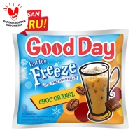 Good Day Kopi Freeze Choc'O'Range Bag (10 Sachet@30 Gram)