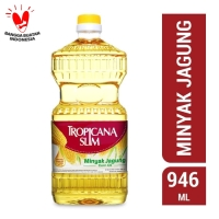 Tropicana Slim Minyak Jagung 946ml (Botol)