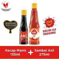 Bundling ABC Kecap Manis 135ml & Sambal Asli 275ml