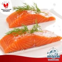 Ikan Salmon fillet @200gram (Norwegian Salmon Premium)