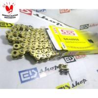 rantai SSS 428 / 130L GOLD CBR 150 CB150 VERZA MEGAPRO SONIC SUPRA