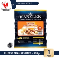 1 Pack - Kanzler Sosis Cheese Frankfurter 360gr