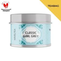 CLASSIC EARL GREY   Mini Tin   Haveltea   Teh Hitam Bergamot Indonesia