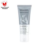 Wardah Nature Daily Mineral+ Clarifying Clay Mask 60 ml