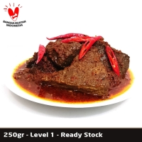 Rendang Paru Uni Etty - 250gr - Level 1