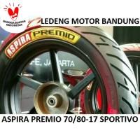 Premio 70/80-17 Sportivo Ban Tubeless Aspira Duo Massimo Motor Bebek