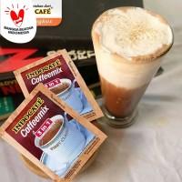 INDOCAFE Coffemix 3 in 1 (kopi + krimer + gula)