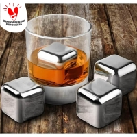 ES BATU STAINLESS FOOD GRADE ICE CUBE STAINLESS REUSABLE