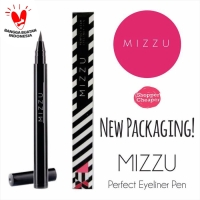 Mizzu Perfect Wear Eyeliner Pen Eye Liner Original Black Brown - Black