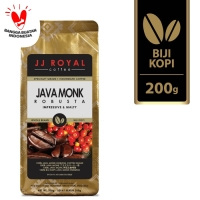 Coffee/Kopi JJ Royal Java Monk Robusta Bean Bag 200g