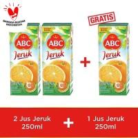 ABC Jus Jeruk 250 ml - Buy 2 pcs Get 1 pcs Free