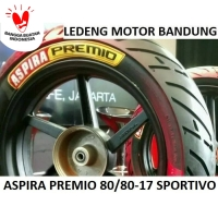 Premio 80/80-17 Sportivo Ban Tubeless Aspira Duo Massimo Motor Bebek