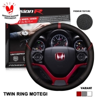Cover Stir / Sarung Stir Mobil Kulit Twin Ring Motegi Sporty VECTOR
