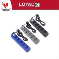 Stop Kontak + Kabel 1.5M OSAKA 5 Lubang (LY-205) SNI