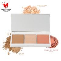 Iomi 3in1 Face Palette (Bronzer, Highlighter & Blush) - Malibu Night