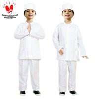 Baju Koko Anak Putih Fayrany FKP-004A Size 13 - 15