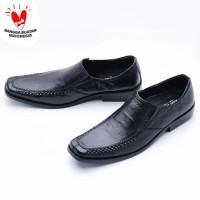 Sepatu Pria Pantofel Kulit Asli Formal Kerja Kantor Murah 509HT