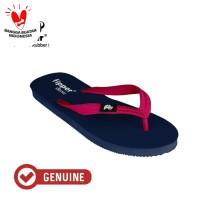 Fipper Classic / Sandal Jepit Unisex / Blue Snorkel Red Ruby