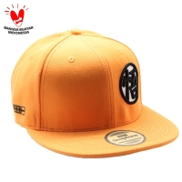 Snapback Topi Hiphop Dewasa Orange Dragon Ball Sbr10038org