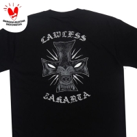 LAWLESS - BARK TSHIRT - BLACK