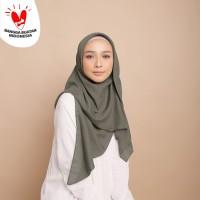 Hijab Wanita Plain Scarf Voal Diario Grey Series