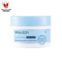 Wardah Lightening Night Cream Advanced Niacinamide 30 g