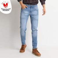 VENGOZ Celana Jeans Pria Skinny - Blue Sky