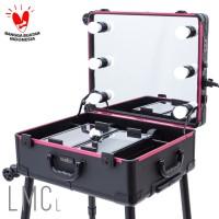 LAMICA Lighted Makeup Case - Large Tas Koper Makeup