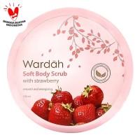 Wardah Soft Scrub With Strawberry 150 ml