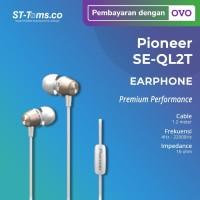 Pioneer SE-QL2T / SE QL2T In-Ear Earphones - Black