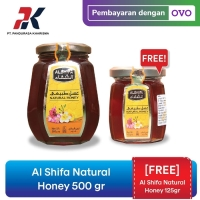 [FREE Al Shifa Natural Honey 125gr] Al Shifa Natural Honey 500 gr