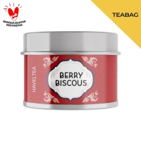 BERRYBISCOUS   Mini Tin   Haveltea   Fruit Tea   Berry Hibiscus