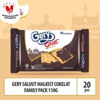 Gery Saluut Malkist Coklat Family Pack -110g (Beli 10 Gratis 10)