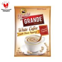 Kapal Api Grande White Coffee Topping Renteng (Isi 10 Sachet @20 Gram)